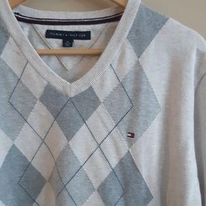 Tommy Hilfiger   light diamond knit sweater